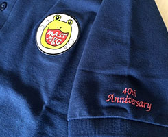 40周年記念シャツも作成!