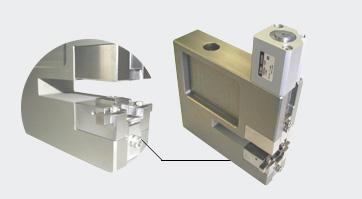 自動機ベース加工 エアーシリンダーによる半導体画像処理用テープパンチャー。 パンチ・ダイの交換も容易です。